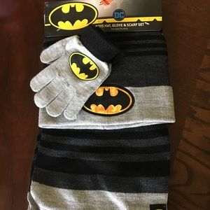 Other - Boys Scarf, Beanie and Gloves Set
